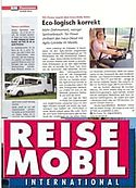 Reisemobil Test Sept. 2012 IVECO 3,0 170 PS Morelo
